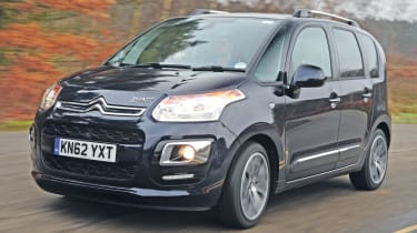 The Citroen C3 Picasso is Citroen's rival to the Nissan Note or Kia Venga supermini-MPVs.