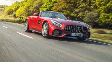 Mercedes-AMG GTC Cabriolet - front tracking