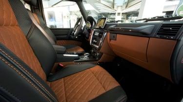 Mercedes-AMG G63 Edition 463 - cabin