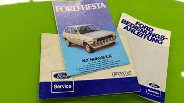 Ford Fiesta Mk1 - manual