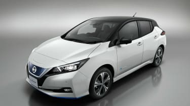 Nissan Leaf e+ - above