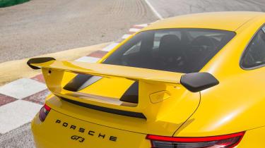 Porsche 911 GT3 - rear detail