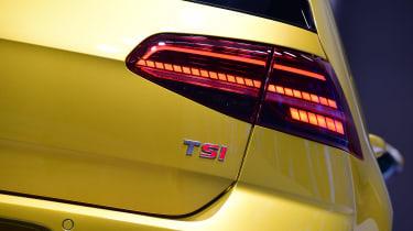 New 2017 Volkswagen Golf reveal - rear light detail
