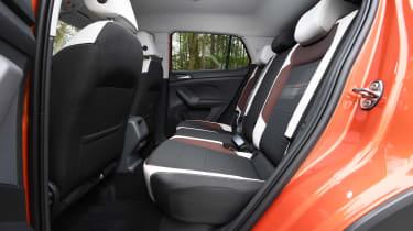 T-Cross - rear seats