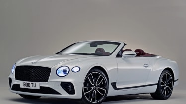 Bentley Continental GTC - studio front