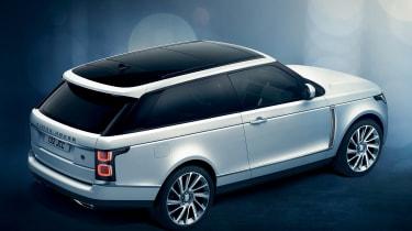 Range Rover SV Coupe - rear