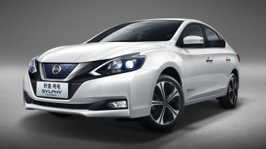 Nissan Sylphy - front