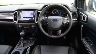 Ford Ranger Wildtrack long termer - first report dash