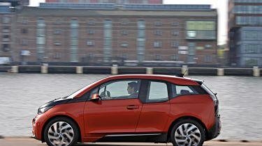 BMW i3 hatchback 2013 river pan