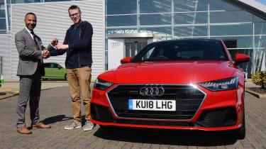 Audi A7 long-term test - front