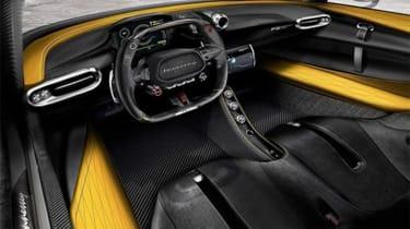 Hennessey Venom F5 - interior