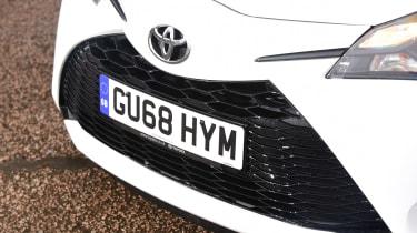 Toyota Yaris GR Sport - grille