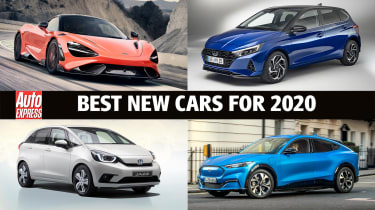 We're expecting a stunning collection of new cars to arrive in 2020, and here they all are...