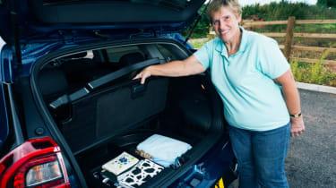 Living with an EV - Kia Niro boot