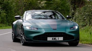 Aston Martin Vantage F1 Edition - front cornering