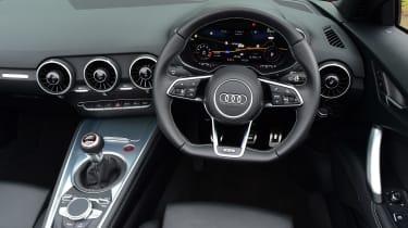 Audi TTS Roadster 2016 - interior