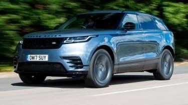 Range Rover Velar - action forward