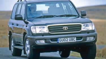Toyota Land Cruiser Amazon front cornering