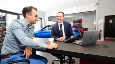 Long-term test review: Alfa Romeo Giulia Veloce - dealership