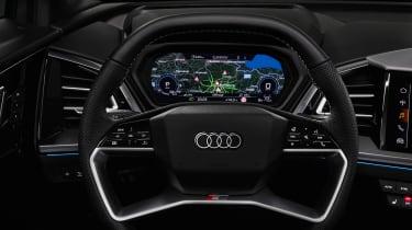 Audi Q4 e-tron prototype - dash