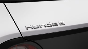 Honda e badge