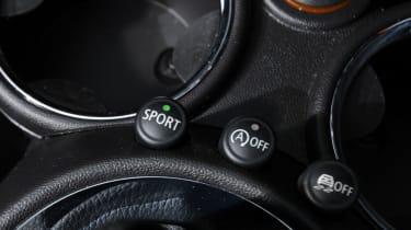 MINI Cooper SD Roadster detail