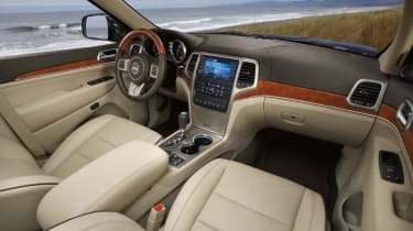 Jeep Grand Cherokee interior