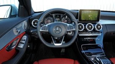 Mercedes C-Class 2014 interior