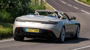 Aston Martin DB11 Volante - rear
