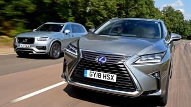 Lexus RX L vs Volvo XC90 - header