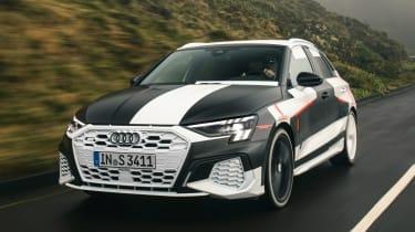 Audi S3 prototype - front tracking