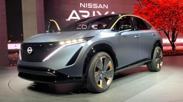 Nissan Ariya concept show pic