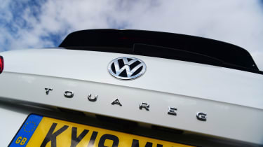 Volkswagen Touareg long termer - first report rear badge