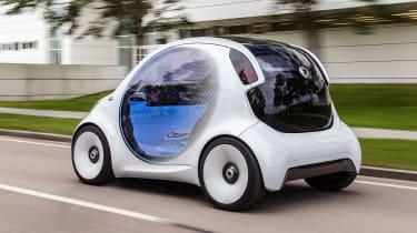 Smart Vision EQ ForFour concept - rear