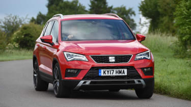 SEAT Ateca - front action
