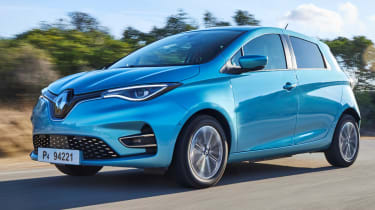 Renault will be hoping the refreshed, third-gen Zoe hits the sweet spot with improved driving dynamics, a classier interior and, arguably its biggest selling point - a 245-mile electric range.