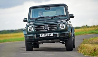 Mercedes G 400 d 2021 review - front