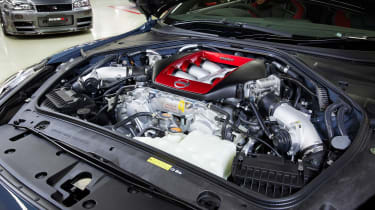 Nissan GT-R Nismo - engine