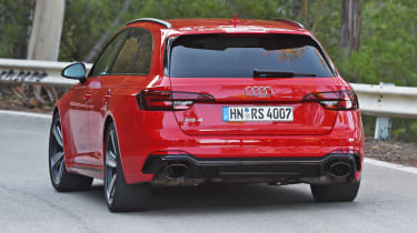Audi RS 4 - rear