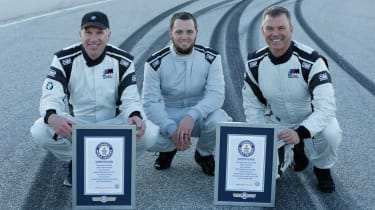BMW drift record - world record