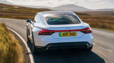Audi e-tron GT - rear action