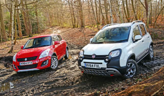Fiat Panda Cross vs Suzuki Swift 4x4 - header