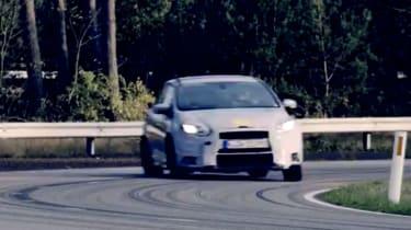Ford Focus RS teaser video screen shot
