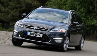 Ford Mondeo Estate front cornering