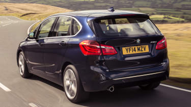 BMW 2 Series Active Tourer - rear action