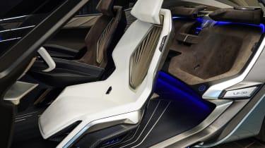 Lexus LF-30 concept car Tokyo 2019 seats