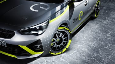 Vauxhall Corsa-e rally - wheel