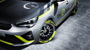 Vauxhall Corsa-e rally - wheel