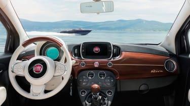 Fiat 500 Riva - interior