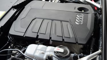 Audi A6 Avant - Long Termer engine